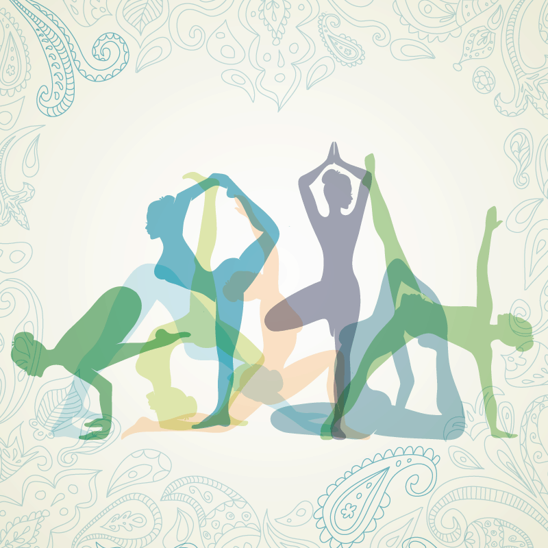 yoga asanas, yoga filosofie