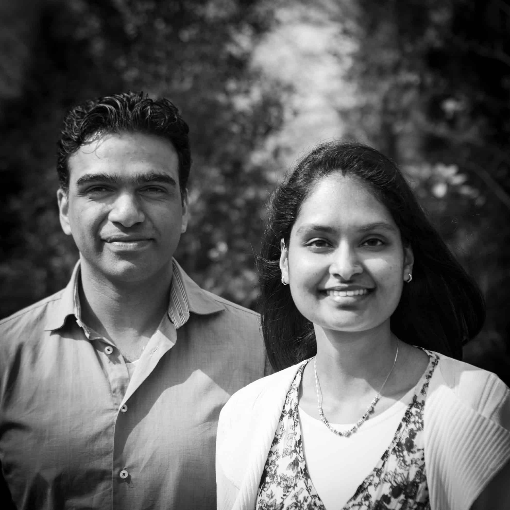 Rishi en Sharesma Soekhai - Yoga retraite The Land of Now