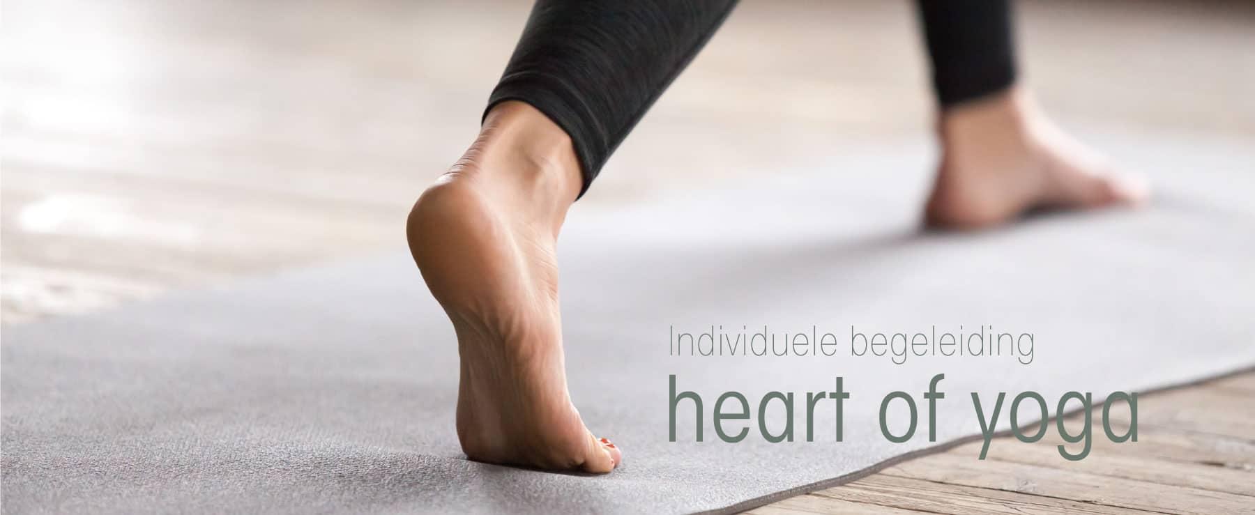 Individuele begeleiding 1 op 1 Heart of Yoga
