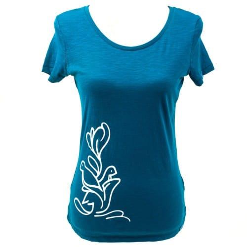 Yoga t-shirt Eco Vegan - Flying high