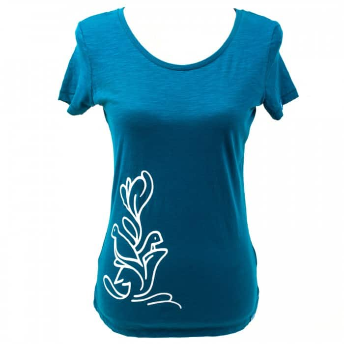 Yoga t-shirt Eco Vegan - Flying high