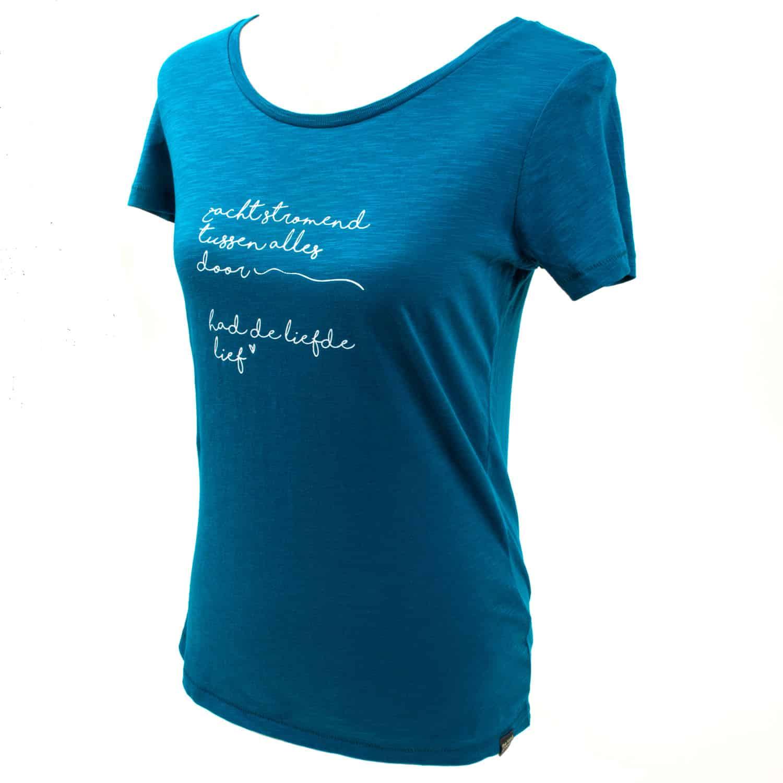 Yoga t-shirt Eco Vegan - Poëzie