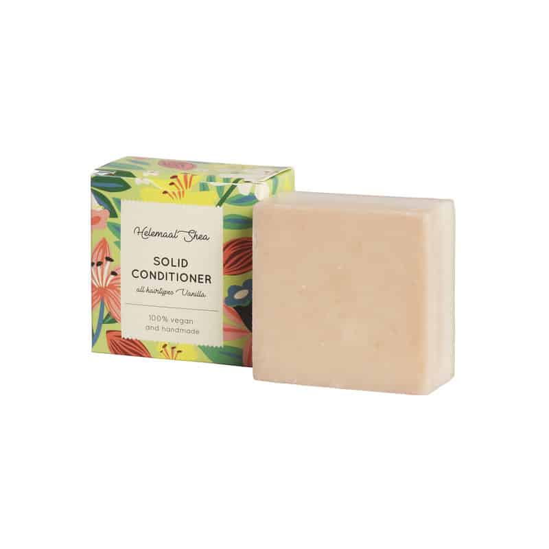 solid conditioner bar alle haartypes vanille